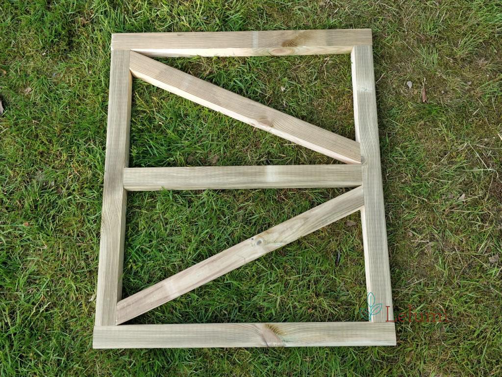 Human door frame